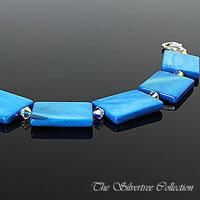 Turkos pärlemo armband
