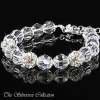Armband i kristall