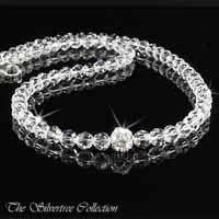 Kristall halsband