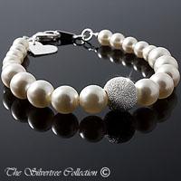 Armband med pärlor och stardust