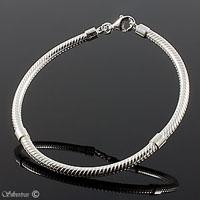 Silverarmband med klolås