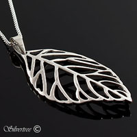 Löv i Sterling silver